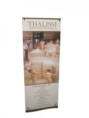 Soporte publicitario, banner x de 60x180 cm