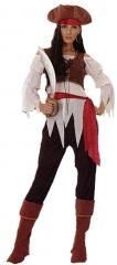 Pirata chica caribe