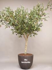 Olivos artificiales de calidad. olivo artificial con aceitunas oasisdecor.com