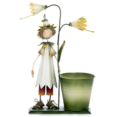 Maceta flores ni�o gorro 30 en lallimona.com