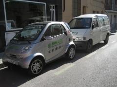 Smart vehiculo comercial y Furgoneta reparto