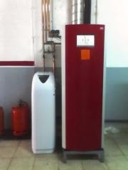 Instalación de descalsificadores y calefacción