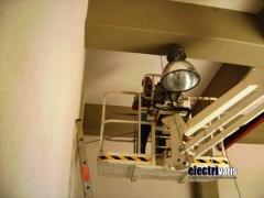 Iluminaci�n en naves industriales