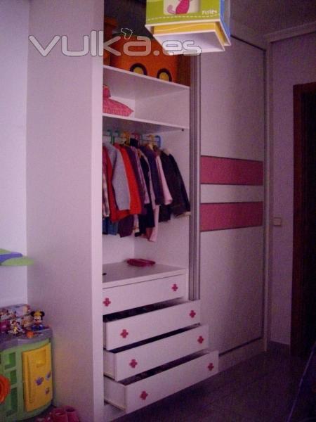 Interiores armarios empotrados infantiles - Herrajes para armarios empotrados ...