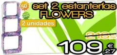 Estanter�a flowers con un 50% de descuento