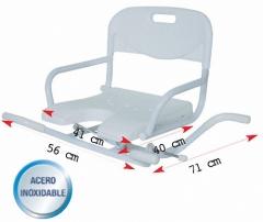 asientos giratorios de ba�era