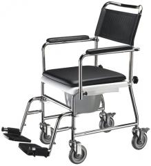 sillas de ruedas con inodoro