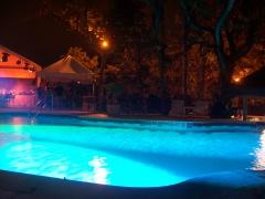 iluminaci�n de piscinas