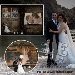 Producci�n de bodas, v�deo, gr�ficos y dvd