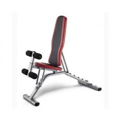 Banco multiposicion domestico bh fitness g320 optima, respaldo regulable, asiento y piernas