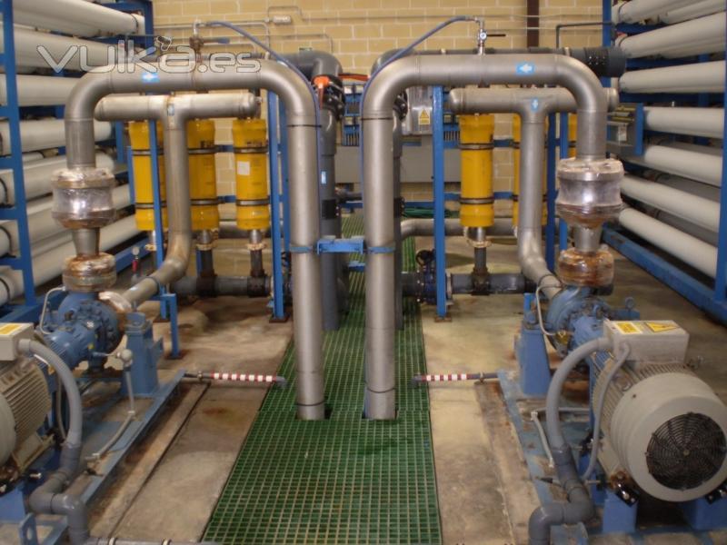 Foto osmosis planta for Descalcificador de agua casero
