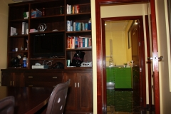 Foto desde el despacho hacia el gabinete 2