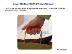 Protector para llevar bolsas