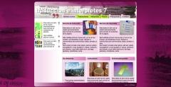 Modelo para traduccion e interpretes