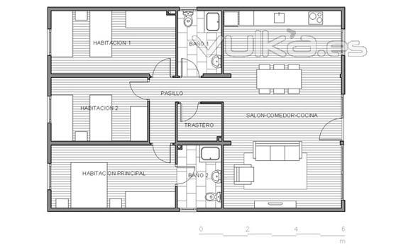 Foto plano vivienda box3h3 0 for Planos para viviendas