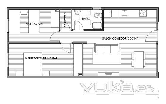 Casas prefabricadas ecoestandar for Planos para viviendas