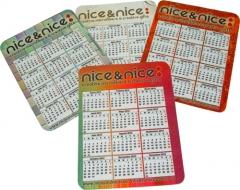 Gamuza de micofibra con calendario. multilimpieza.-gafas,teléfonos móviles pantallas de ordenador,