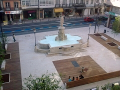 La plaza de santa catalina (entrada establecimiento)