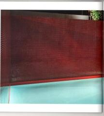 Acabados decorativos en zona piscina