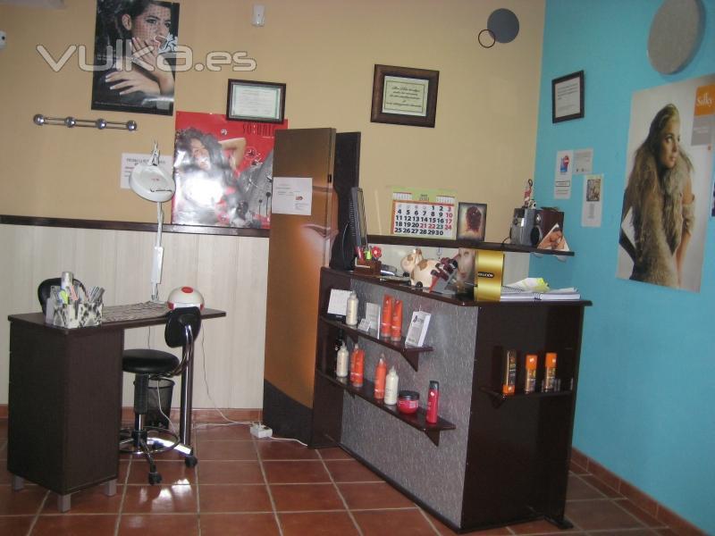 Foto recepcion for Administrar un salon de belleza