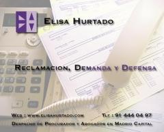 Elisa hurtado reclamacion, demanda y defensa