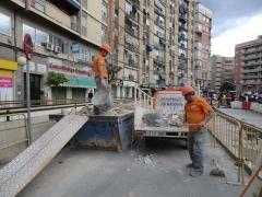 Reforma integral de zagu�n en plaza circular murcia