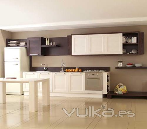 Foto mobiliario de cocina aran modelo aqua for Muebles aran
