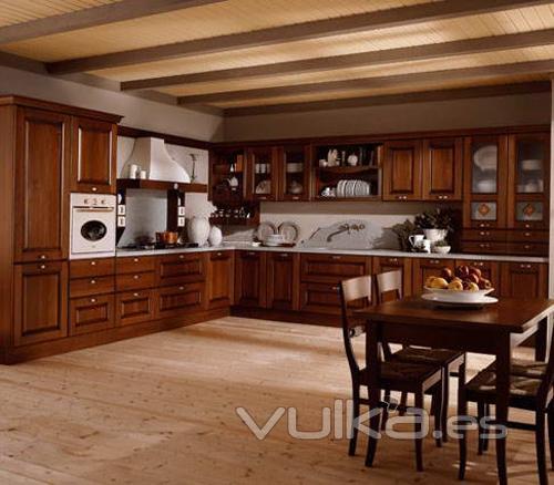 Foto mobiliario de cocina aran modelo etrusca for Muebles aran