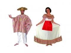 Disfraces de mejicanos