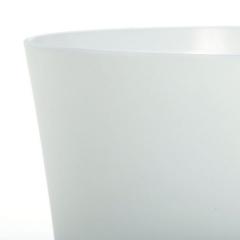 Maceta plastico satin 15 blanca en lallimona.com detalle1