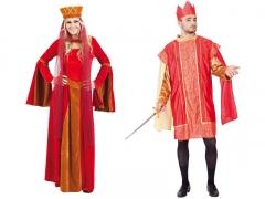 Disfraces de reyes medievales
