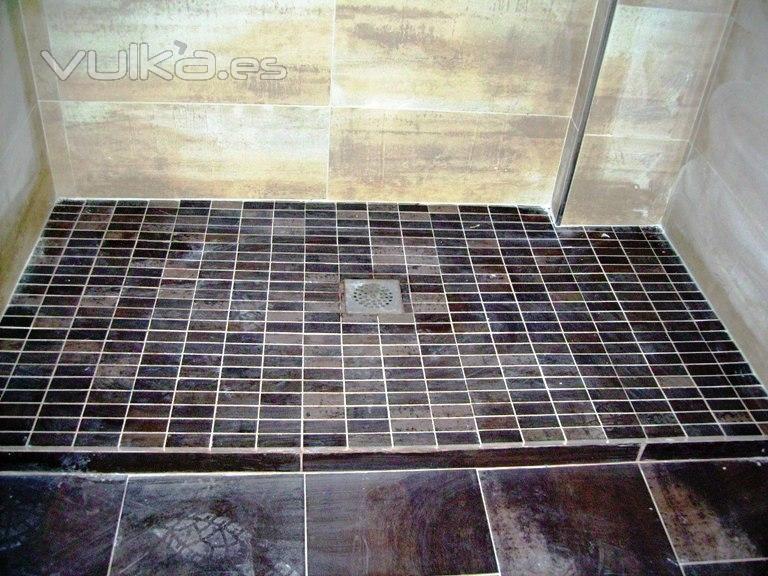 Instalaciones y reformas integrales l c g - Fotos de duchas de obra ...