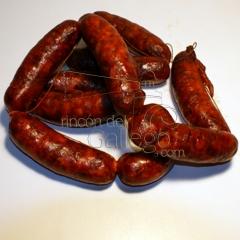 Chorizos caseros  www.rincondelgallego.com