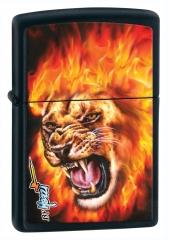 Zippo lion flame by mazzi | mecherosdeculto.com