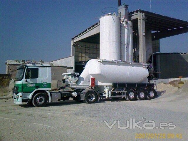 empresa transporte mortero: