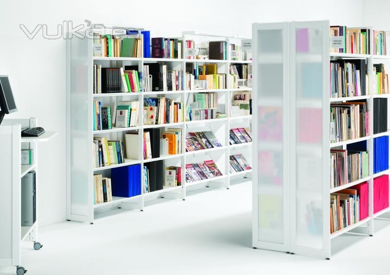 Foto estanterias lupass oficinas for Estanterias oficina