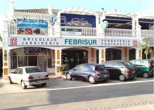 Tienda de FEBRISUR en Centro Comercial Las Ventas, Benalmádena (Málaga)