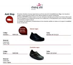 Modelos de chung shi antistep