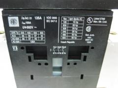 Datos técnicos interruptor de corte en carga.