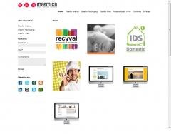 Programaci�n plantilla wordpress de la web: http://www.maemca.com