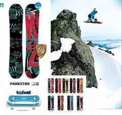 Tabla de snow k2 parkstar