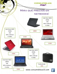 Catálogo netbooks de Consumibles A3F - Abril 2011. www.consumiblesa3f.com