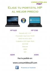 Catálogo Portátiles HP de Consumibles A3F: www.consumiblesa3f.com