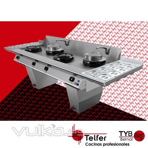 Foto cocina wok modelo wok 4 - Wok 4 cocinas granollers ...