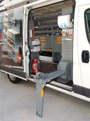 Equipamiento interior para furgonetas