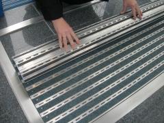 Felpudo de aluminio ipamat-10 (enrollable y sin obras)
