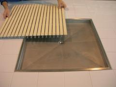 Pavimento drenante ipagrid (plato inox.)