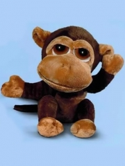 Peluche monos de calidad. peluche mono mediano duggleby ojos grandes oasisdecor.com