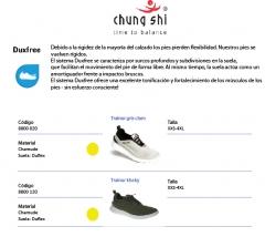 Modelos chung shi duxfree