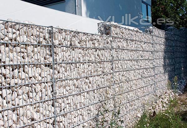 Foto gaviones de piedra for Gaviones de piedra